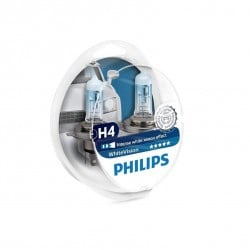 Lámparas H4 Philips WhiteVision