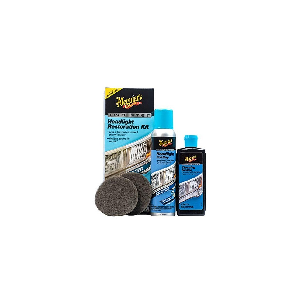 Meguiar´s Perfect Clarity Headlights Restoration kit restaurador de faros
