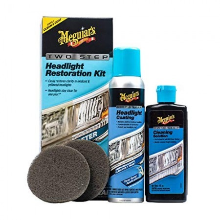 Meguiar´s Two Step Headlights Restoration - kit restaurador de faros