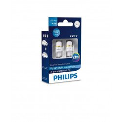 Set lámparas led W5W T10 Philips 6000K X-tremeUltinon LED