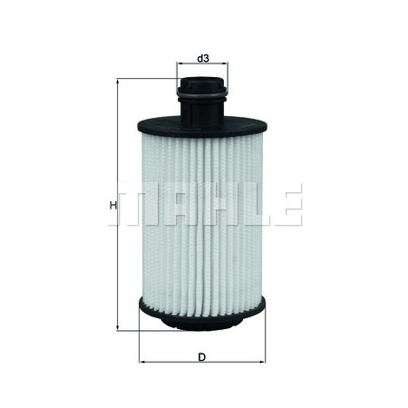 OX1012D: MAHLE FILTRO ACEITE DAEWOO GM