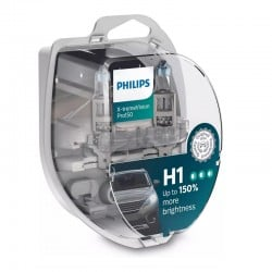 Set lámparas H1 Philips...
