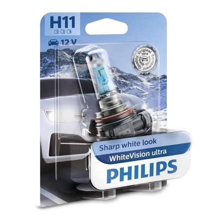 Lámpara Philips WhiteVision Ultra H11