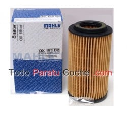 Filtro aceite Mahle OX 153D2