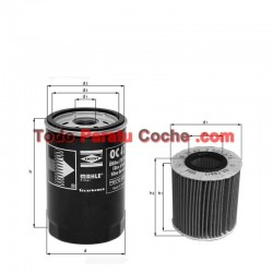 Filtro aceite Mahle OX 636D
