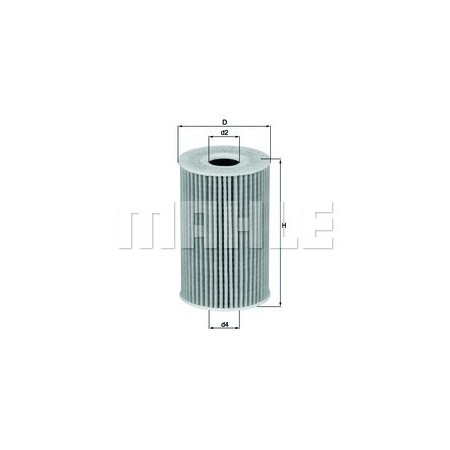 Filtro aceite Mahle OX 388D