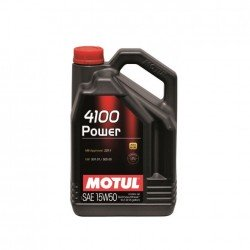 Aceite Motul 4100 Power 15w50 5L - 1L