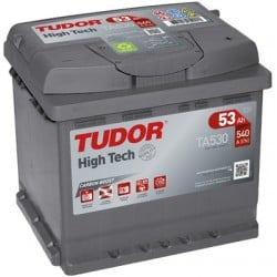 Bateria Tudor HIGH-TECH-  53Ah - 540A