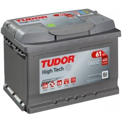 Bateria Tudor HIGH-TECH-  61Ah - 600A