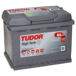 Bateria Tudor HIGH-TECH- 64Ah - 640A