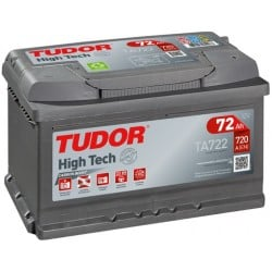 Bateria Tudor HIGH-TECH-  72Ah - 720A