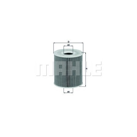 Filtro aceite Mahle OX 156D
