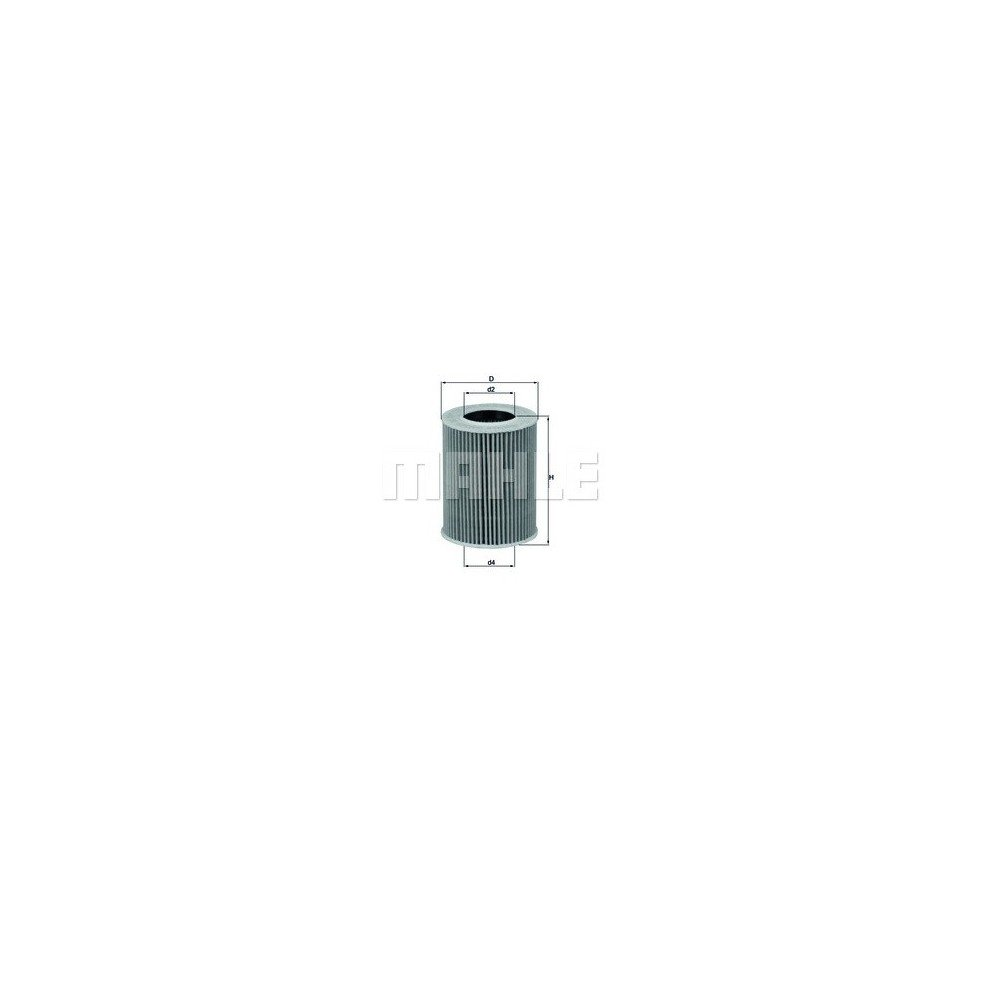Filtro aceite Mahle OX 369D
