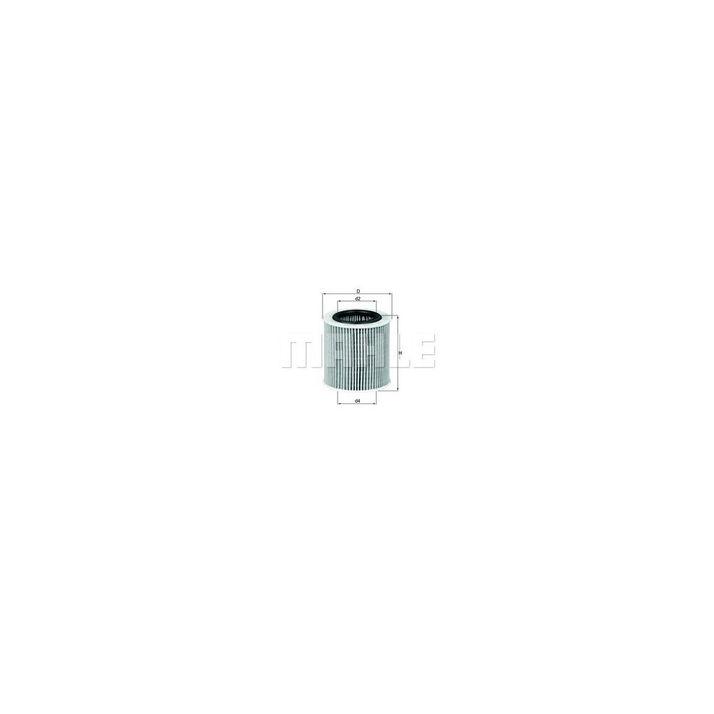 Filtro aceite Mahle OX 387D