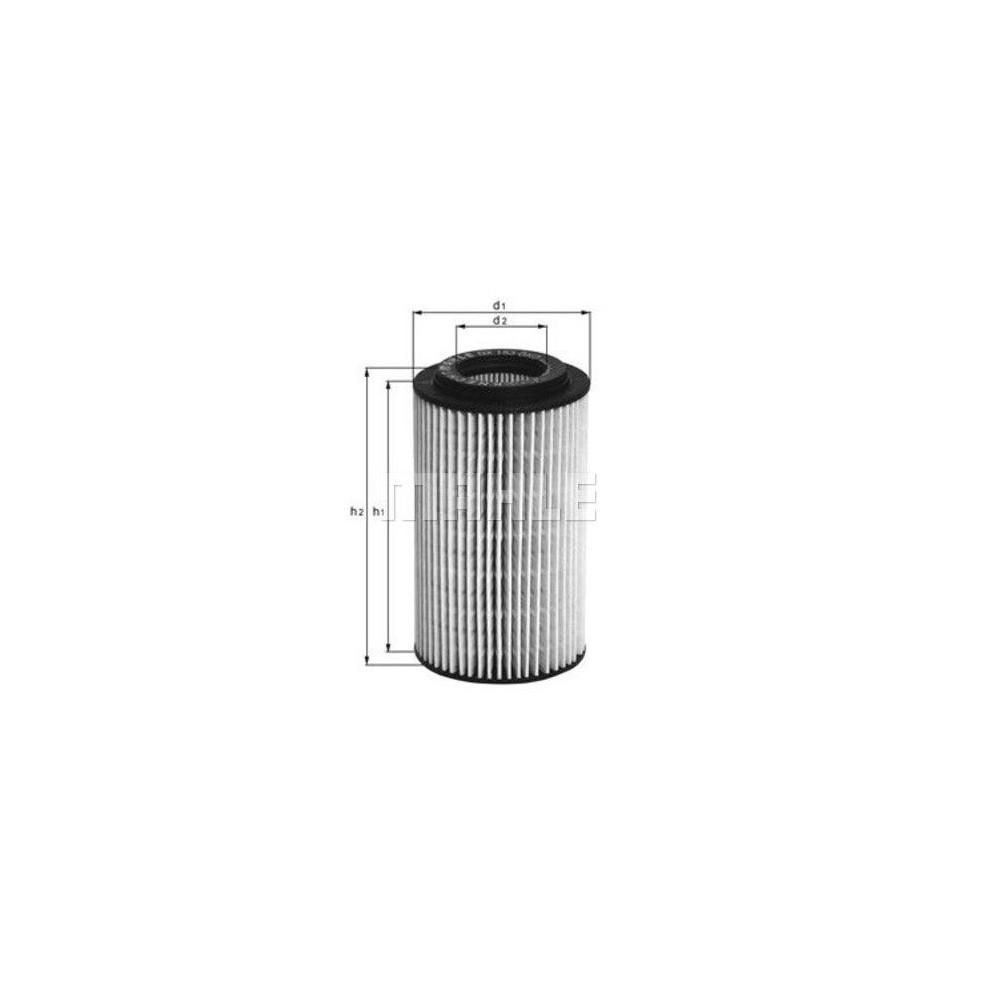 Filtro aceite Mahle OX 153D3