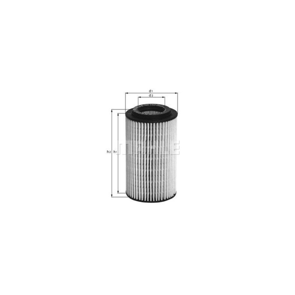 Filtro aceite Mahle OX 153D1
